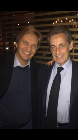 GSA groupe Gérard Suissa avec Nicolas Sarkozy